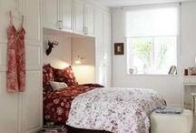 ΜΙΚΡΟΙ ΧΩΡΟΙ: ΚΡΕΒΑΤΟΚΑΜΑΡΑ / Small spaces bedrooms ideas