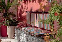 ΕΞΩΤΕΡΙΚΟΙ ΧΩΡΟΙ ΣΕ ΜΕΞΙΚΑΝΙΚΟ ΣΤΥΛ / Outdoor Mexican style ideas