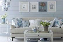 ΧΡΩΜΑ: ΜΠΛΕ / Decorating with Blue