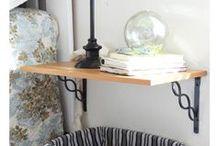 ΕΠΙΠΛΑ από ΡΑΦΙΑ / Selves furnitures ideas