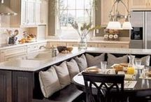 ΕΝΙΑΙΟΙ ΧΩΡΟΙ ΚΑΘΙΣΤΙΚΟ-ΚΟΥΖΙΝΑ / Open kitchen - living room ideas