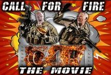 Call for Fire ... The MOVIE! / Pins from our social media campaign, & Pre-Production all the way to our films completion.