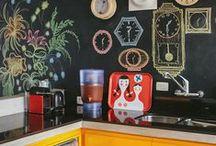 ΒΑΨΙΜΟ: ΤΟΙΧΟΙ ΜΑΥΡΟΠΙΝΑΚΕΣ / Blackboard walls ideas