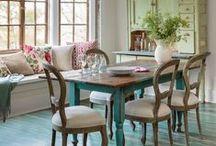ΔΙΑΚΟΣΜΗΣΗ: ΤΡΑΠΕΖΑΡΙΑ / Dining room ideas