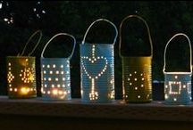 DIY: ΦΑΝΑΡΑΚΙΑ ΑΠΟ ΚΟΝΣΕΡΒΟΚΟΥΤΙΑ / Tin can summer lanters