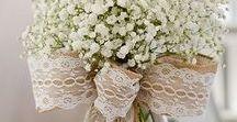 ΔΙΑΚΟΣΜΗΣΕΙΣ ΓΑΜΟΥ με ΛΙΝΑΤΣΑ & ΔΑΝΤΕΛΑ / Burlap and Lace wedding ideas