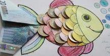 DIY: ΙΔΕΕΣ ΓΙΑ ΔΩΡΑ ΣΕ ΧΡΗΜΑΤΑ / Money gifts ideas
