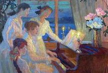Musical Art / The spirit of music on canvas.