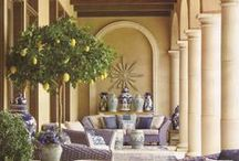 Outdoor Rooms ~ Porches ~ Patios / by Richelle Milton