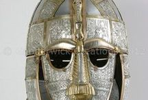 Sutton Hoo Reproductions / This is an ongoing project to recreate the finds from Sutton Hoo, Suffolk.  Some of these items are on show in the  Sutton Hoo visitor centre, others are with private collectors.
