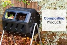 Composting / A full range of composting products to help your recycle your organic waste around the house and garden.