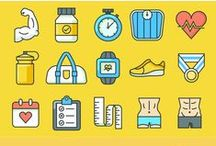 Icon Packs For Mobile & Web / Collections of beautiful icon packs for your website and mobile apps.