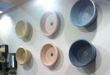 iSaloni 2014 / New console Le Conche with washbasin Le Anfore and the new washbasin freestanding, all design Vincenzo Catoio. www.alessandrolasferza.it