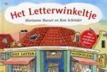 Boeken voor groep 1/2 (kleuters 4-6 jaar) / Prentenboeken voor kleuters en eerste kennismaking met letters.