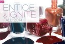 Entice and Ignite - Two NEW Fall Zoya Nail Polish Collections! / Inspired by the classic wools, textured brocades and metallic accents of the season.