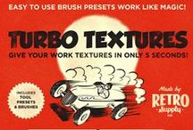 Vintage/Retro Printing Press Kit