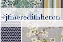 JF Fabrics // Meredith Heron Color Concepts Crypton Home Collection
