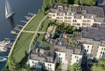 Living Spree - the breathtaking waterfront apartments! / Situated on the banks of the river Spree with direct water access, this new development project consists of 42 apartments on one of the last waterfront properties in Köpenick. For nautical enthusiasts, moorings are available.