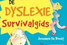 Dyslexie & Dyscalculie / Handige boeken en websites voor ouders en/of leerlingen over het omgaan met dyslexie& dyscalculie