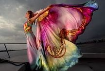 Inspiring Dance Costumes / Finding your muse and bringing it to life through the art of costuming.