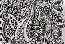 Mandalas / Mandalas, Schnörkel, drawing, sketches, boho style, art