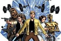 """Star Wars (The New Canon) / Disney is re-setting the Star Wars story and timeline. Only these storylines & characters in these films, books, graphic novels and video game are canon. Anything not a """"novelization"""" of the 6 George Lucas films, or the 2 animated series are """"retired."""" Amazon LINKS on one page - http://amzn.to/1YzDsa3"""