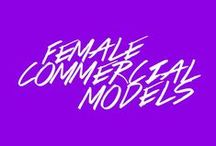 Female Commercial Models