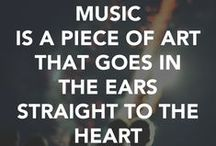 Inspiring Music Quotes and Instruments / I am obsessed with the power of music to inspire our lives. Carpe diem!