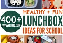 Orgali & Healthy Lunch Ideas for Kids / Why look somewhere else when you have here everything you need to make your picky eater happy at lunch time?