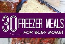 Orgali & Healthy Freezer Meals / Healthy and easy meals that freeze well so the whole family enjoys delicious leftovers when we are short on time.