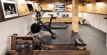 Home | Garage Gym Inspiration / A board full of ideas for turning your garage into a home gym.