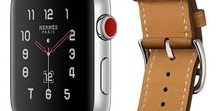 Apple Watch 3 (2017) /  [UPDATED March 2018 with New Watchbands] Built-in cellular, powerful new health and fitness enhancements: Streaming Music, Faster Dual-Core Processor and watchOS 4 - Built-in GPS and GLONASS, Faster dual-core processor W2 chip, Barometric altimeter Capacity,  16GB, Heart rate sensor, Accelerometer and gyroscope, Water resistant 50 meters, Sapphire crystal, Ceramic back, Wi-Fi (802.11b/g/n 2.4GHz) Bluetooth 4.2, Up to 18 hours of battery life3 watchOS 4