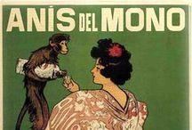 Nuestros carteles / Carteles antiguos y modernos, anuncios y publicidad de Anís del Mono