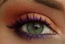 Eye makeup for green eyed beauties <3