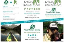 Kauai Community / Support Kauai economy by shopping local. We support our community by giving back to non-profit organizations. When looking for the perfect gift idea, shop our local products section on ActivityKauai.com.
