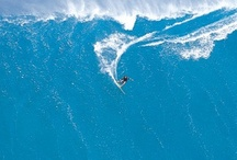Hawaii Waves / Hawaiian waters are some of the fiercest world wide. The waves in Hawaii represent some of the largest surf and are captured in many of these photos. Water temperature is highly desireable and the waves leave surfers with nothing left to be desired!