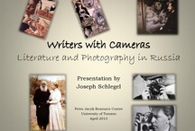 Writers with Cameras / An exhibition presented at the Petro Jacyk Resource Centre in Robarts Library of the University of Toronto, April-October 2013   Exhibition by Joseph Schlegel   View the PowerPoint presentation at http://pjrc.library.utoronto.ca/exhibitions