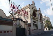 Fábrica de Anís del Mono / Las mejores fotos de la fábrica de Anís del Mono en Badalona y sus alrededores