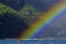 Kauai Rainbows / Who doesn't love a rainbow? A double rainbow? Yes please! Check out some of our favorite pics of stellar Hawaiian rainbows. You may even see a unicorn or two!