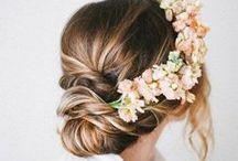 Peinados de Novia | Hairstyles Weddings / Ideas de peinados de novia / Bride hairstyles ideas  www.bodascondetalle.es