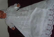 Tenues et robes de baptême traditionnel / Mes créations pour les baptêmes robes de baptême longues robes traditionnelles de baptême robes de baptême tenues de baptême gilets de baptême christening gowns christening dresses Tous ces articles sont disponibles à la vente et sont personnalisables Pour me contacter douniachetchka@gmail.com ou en vente sur http://www.alittlemarket.com/boutique/bapteme_des_anges-66304.html