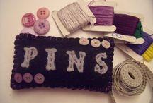 Pincushions / Pincushions hand sewn by ChickfromLeeds