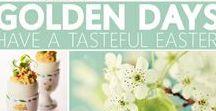 Happy Easter / Golden Day's met leuke Paas DIY, ideeën en inspiratie
