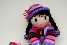 2poupees tricotees