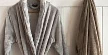 Bath Robes / A curated collection of robes for all seasons - for relaxing at home or for the quick dash to put the bins out!