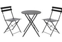 French Inspired Bistro Sets / Bring a touch of Parisian style to your outdoor space! / by Skycarte