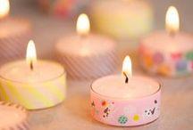 Kynttilöiden tunnelmaa