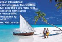 Travel Essentials / Beachwalkers Travel Essentials. Visit us at: www.pentizon.com