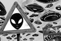 Aliens / todo lo que pueda sobre aliens, ovnis, astronautas, luna, cielo, estrellas,etc