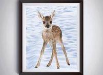 Digital Animals print